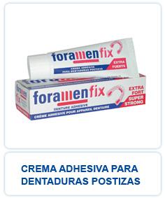 Crema Adhesiva para Dentaduras Postizas