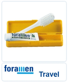 Foramen Travel Toothbrush