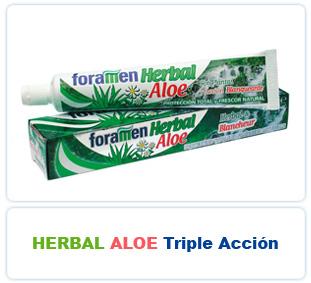 Herbal Aloe Triple Acción