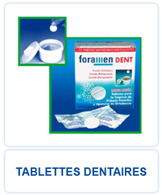 Tablettes Dentaires