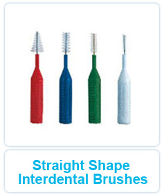 Straight Shape Interdental Brushes