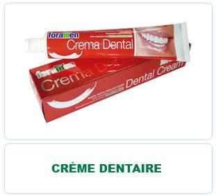 Crème dentaire