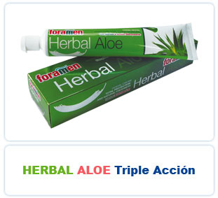 Herbal Aloe Triple Acción