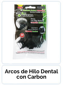 Arcos de Hilo Dental con Carbon